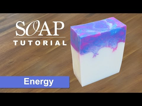 Energy, Melt and Pour Soap Tutorial