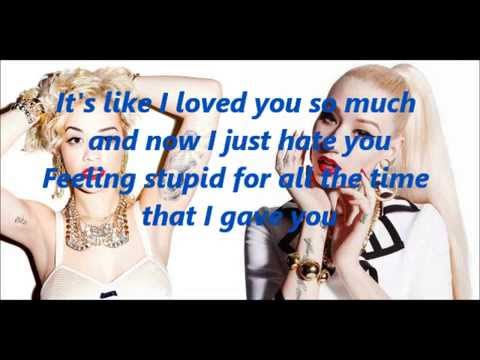 Black Widow by Iggy Azalea and Rita Ora LYRICS (Unpitched)