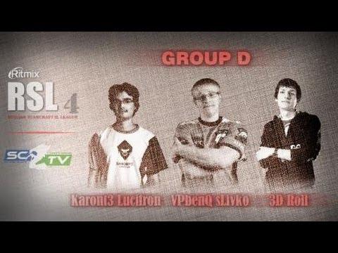 K3LucifroN vs VPBenQlsLivko: Ritmix RSL 4 Group D - [Starcraft II]