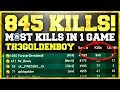 845 KILLS IN A SINGLE GAME OF WW2
