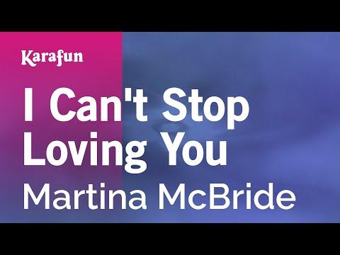 Karaoke I Can't Stop Loving You - Martina McBride *