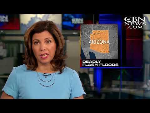 Arizona Flash Flood Kills Nine Swimmers, Video Captures Torrent