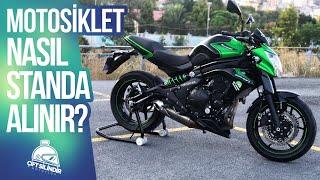 Motosiklet Nasıl Sehpaya Alınır ?