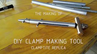 Clamptite: How to make DIY Hose Clamp Making Tool (Clamptite Replica)