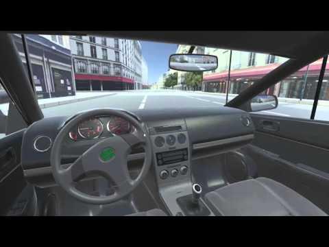 Driving simulator concept realtime demo (AI)