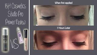 bh cosmetics studio pro primer review comparison