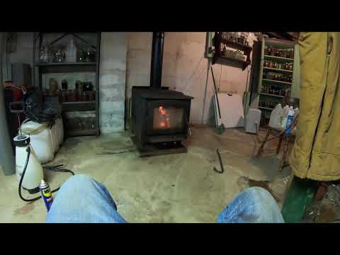 Wood Stove Install Saved Alot Of Money At Home Depot