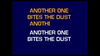 Queen - Another One Bites The Dust (Karaoke - Instrumental + On Screen Lyrics)