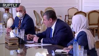 Депутат Слуцкий провел в Тегеране переговоры с министром иностранных дел Ирана Мохаммадом Джавадом