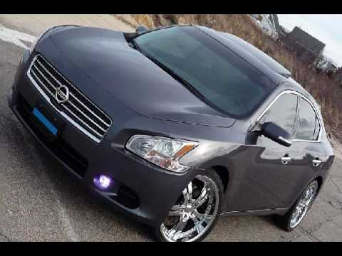 2009 2010 Nissan Maxima On Rims Youtube