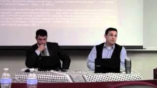 Avi Bell Debates Nasser Barghouti on BDS Movement at CSUSM March 2012