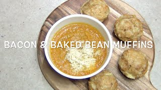 Bacon And Baked Bean Muffins Cheekyricho Video Recipe Episode 1,030