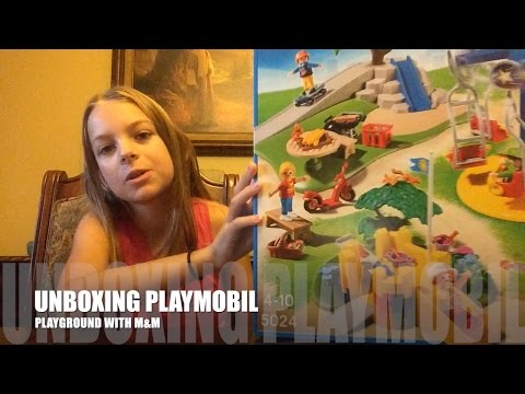 UNBOXING PLAYMOBIL PLAYGROUND