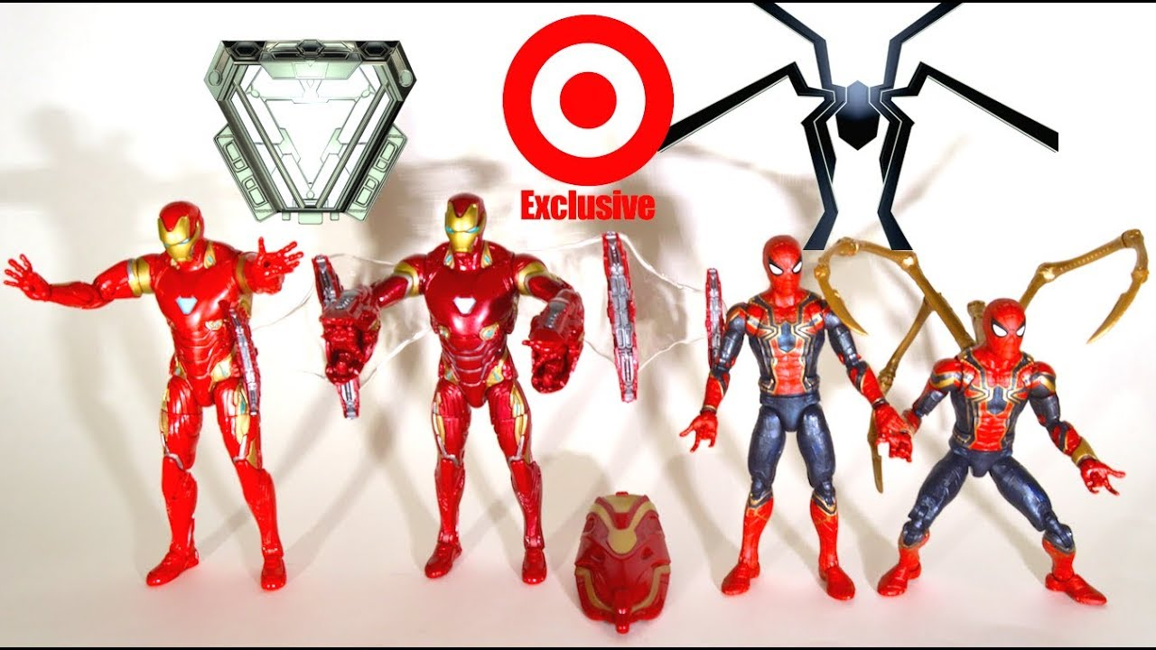 IN STOCK Marvel Legends Iron Man /& Iron Spider Spiderman 2-Pack