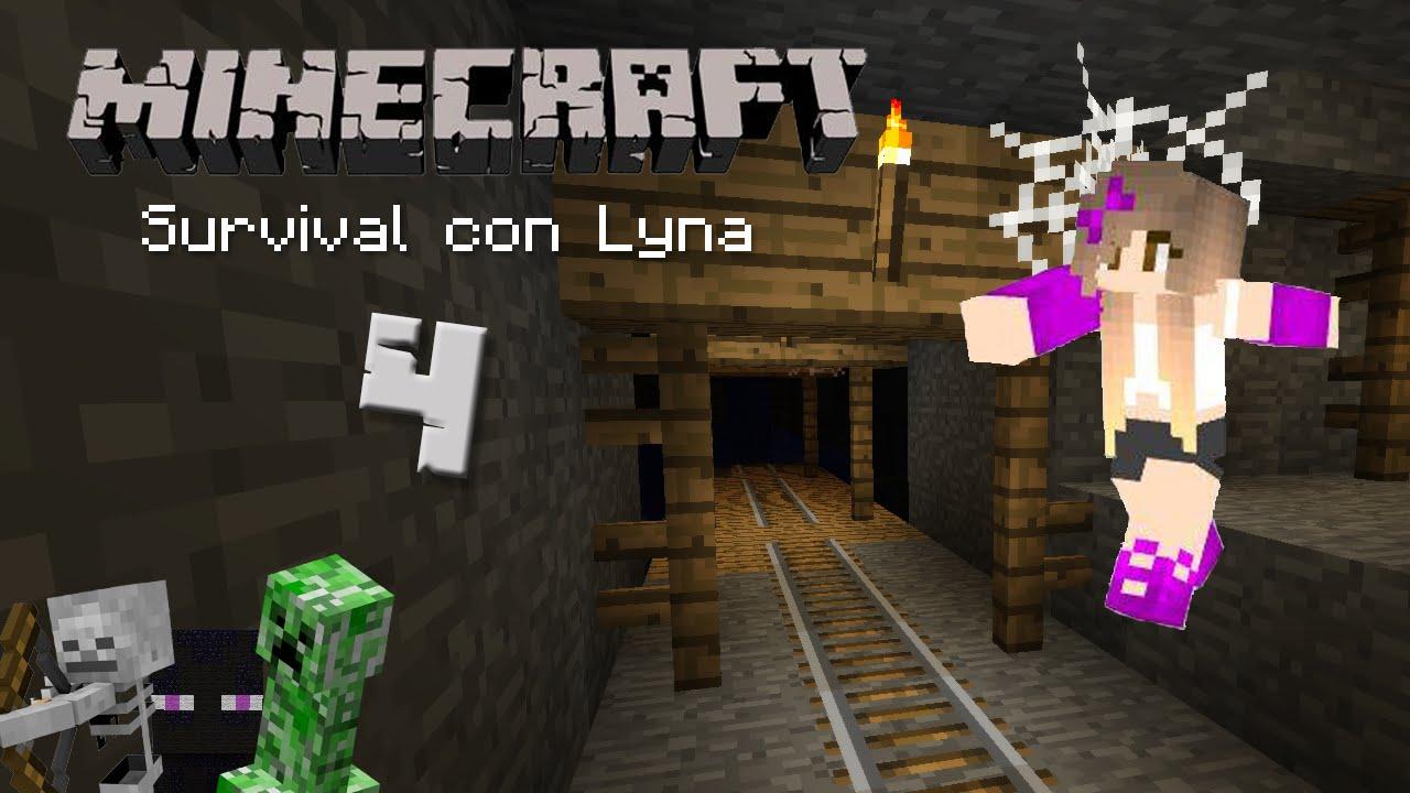 Mineshaft Y Gritos Minecraft Survival Con Lyna 4 YouTube