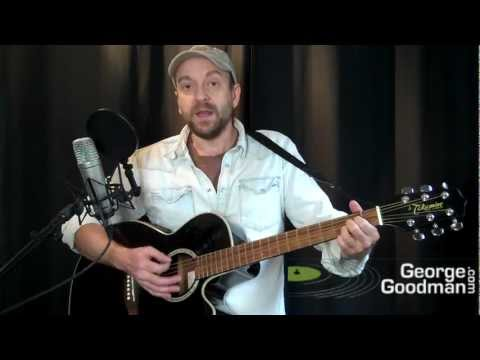 Dr Hook Cover Of The Rolling Stone Guitar Lesson by Nanaimo musician George Goodman