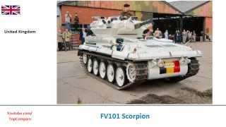 fv101 scorpion infantry vehicles performance comparison