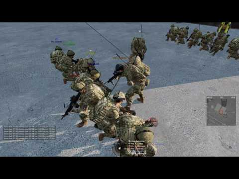 ArmA 3 - Section Training 01/03/16 - 6th Airborne Division British Milsim