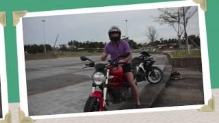 Мото Уроки Вождения Мотоцикла: Падение Новичка На Мото Ducati, Уроки Вождения Мотоцикла