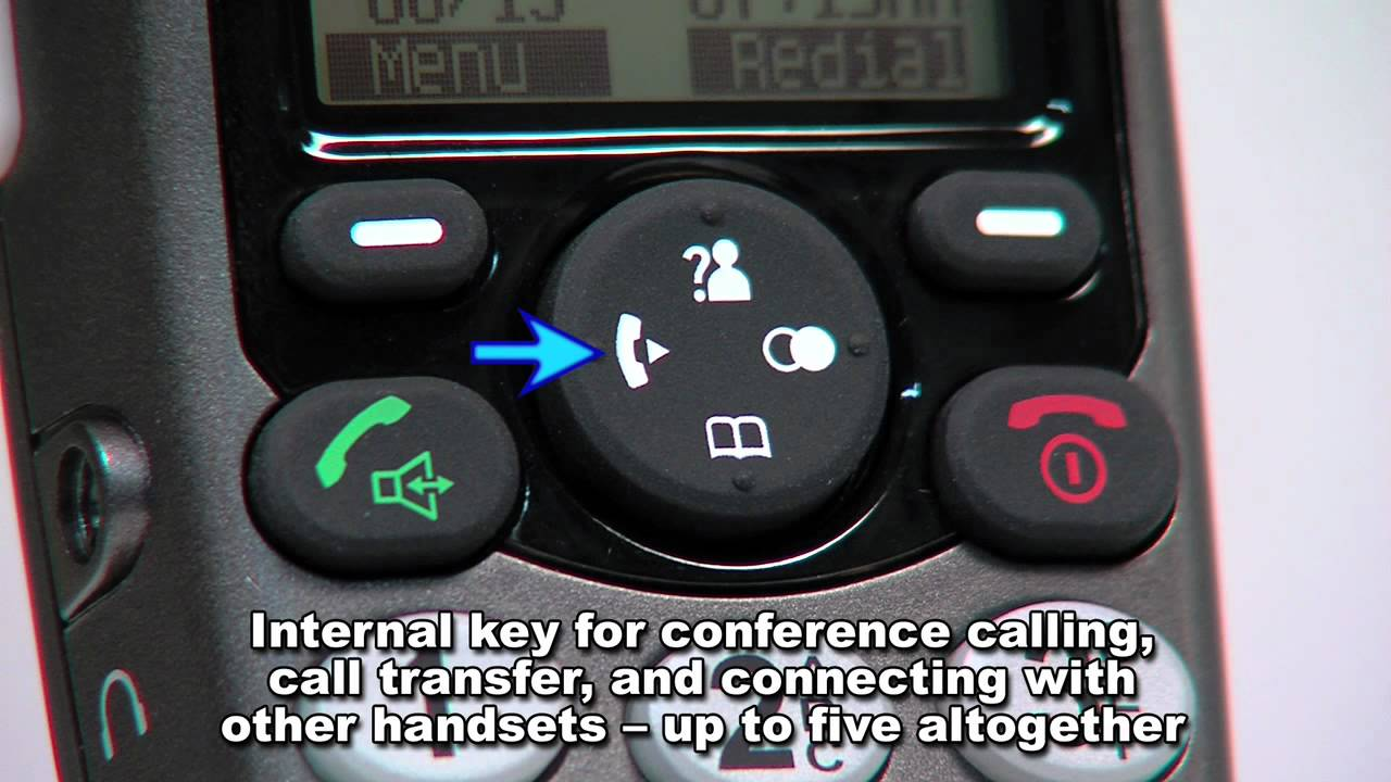 Geemarc AmpliDECT 350 Amplified Cordless DECT Telephone