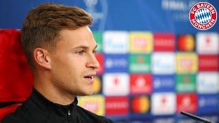 🎙️ FC Bayern Pressetalk mit Hansi Flick und Joshua Kimmich vor dem Finale #PSGFCB