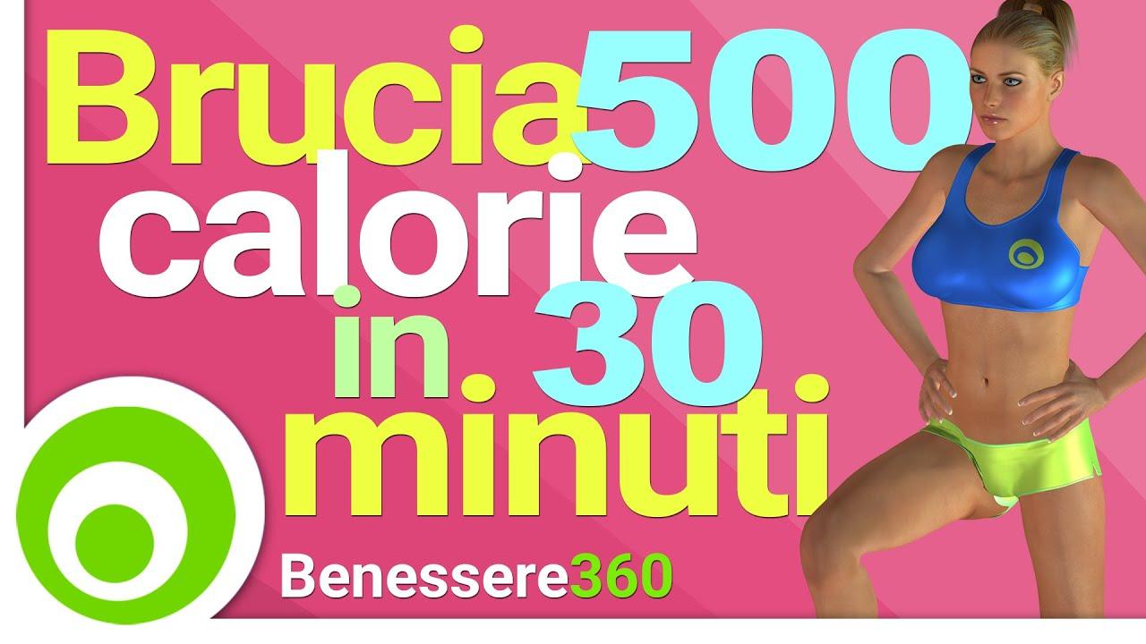 30 allenamento brucia grassi