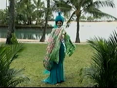 MISS UNIVERSE 1998 National Costume Clip