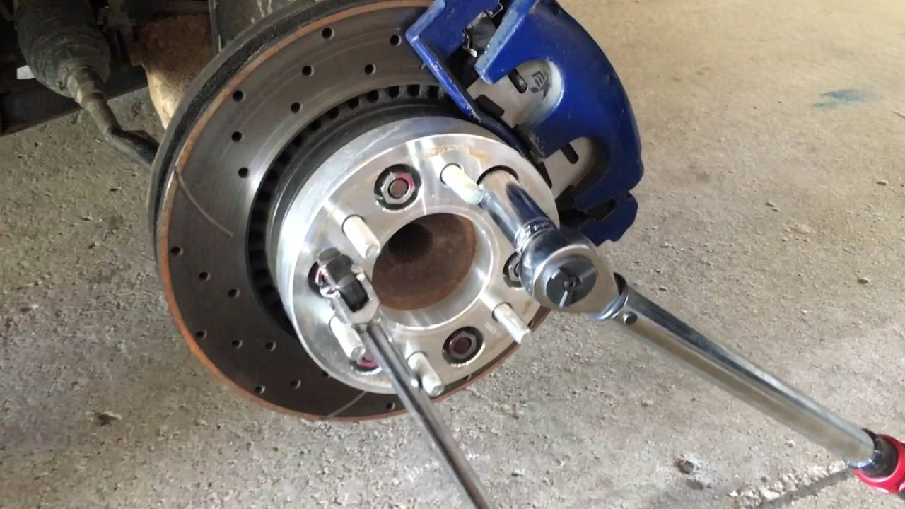 Chevy Trailblazer Wheelspacers - YouTube