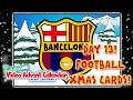 🎄Day 13🎄 FOOTBALL CHRISTMAS CARDS! (442oons Video Advent Calendar football cartoons)