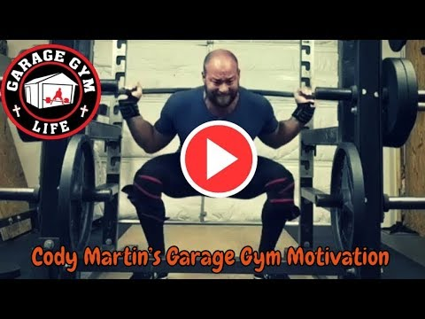 The  WHY Project Episode 1: Cody Martin's Garage Gym Motivation