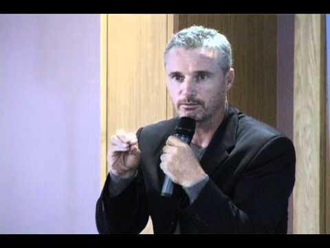 Eddie Irvine speaks at Raise Your Game Conference 2011