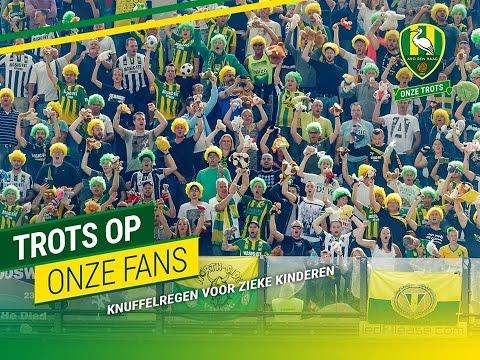 Football Respect   ADO Den Haag fans shower sick kids with toys