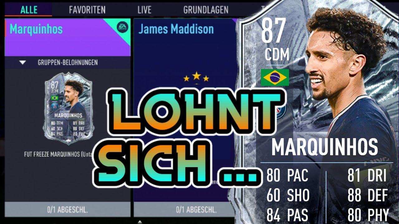 LOHNT SICH FREEZE MARQUINHOS SBC 🤔 FIFA 21 FUT 21 - YouTube
