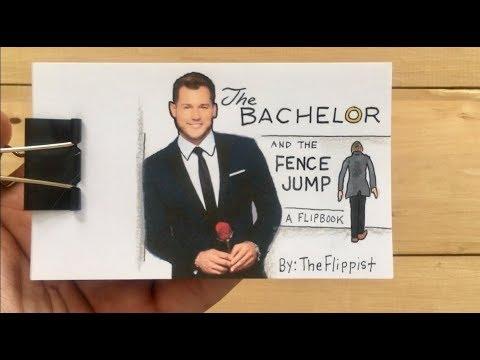 The Bachelor & The Fence Jump: A flipbook