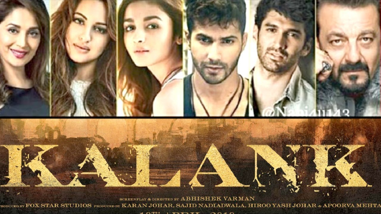 Kalank Movie Poster REVIEW