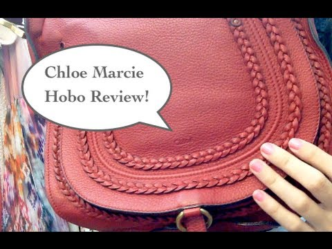 e0b987ba362f Chloe Marcie Hobo Review (comparison to YSL muse 2) - YouTube