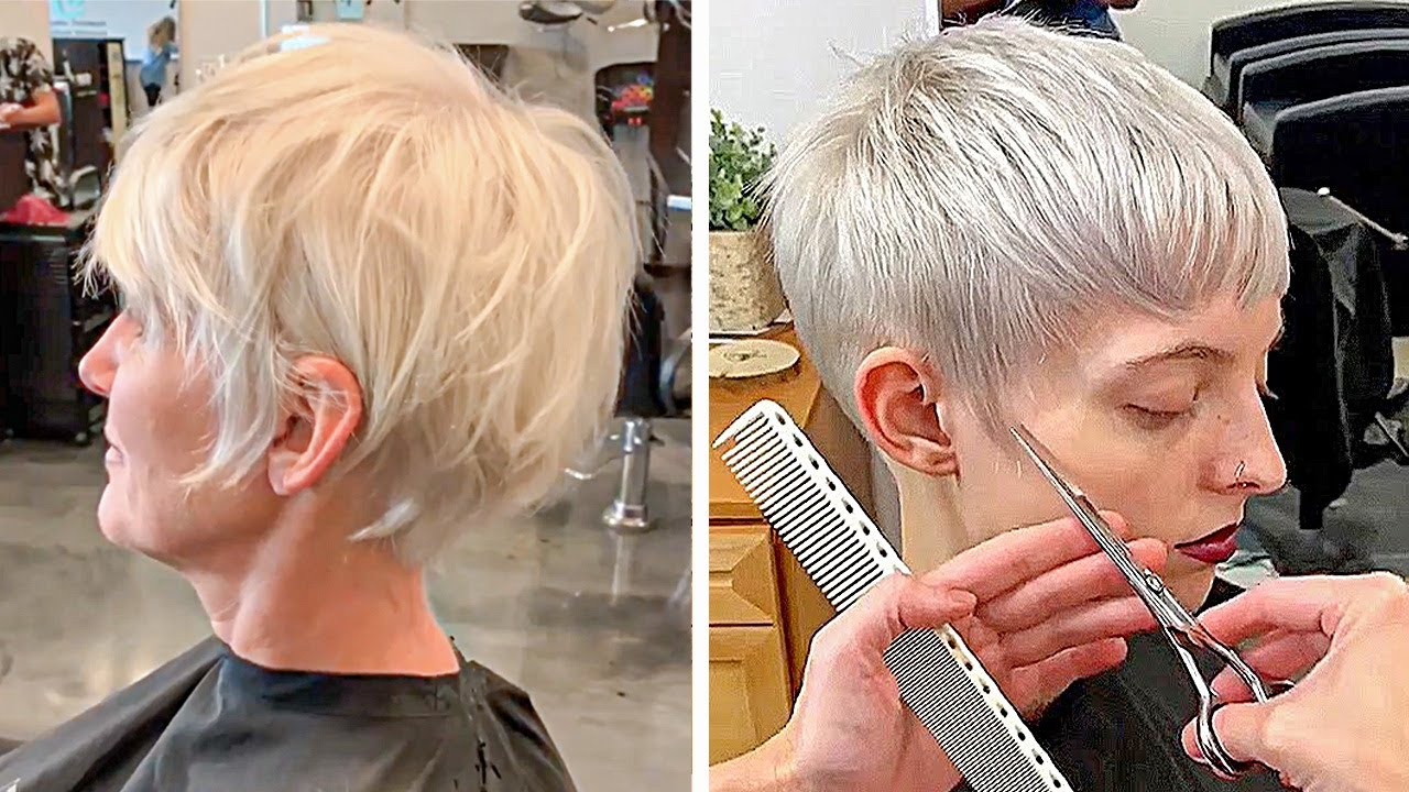 10 Best Pixie And Short Cut Hairstyle Ideas 2020 Hot Trend Women Short Haircut 13 Youtube