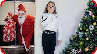 Дед Мороз НАСТОЯЩИЙ? Тома поймала Деда Мороза!!!