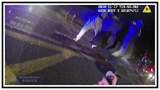 Attack On Metropolitan Police (Kursan Euell & Martin Payne) | Body Cam | United Kingdom | 20181117