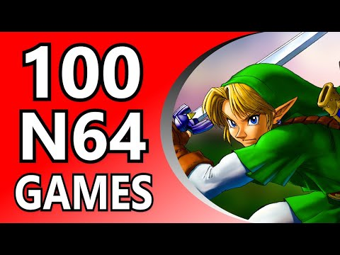 Top 100 N64 Games (Alphabetical Order)