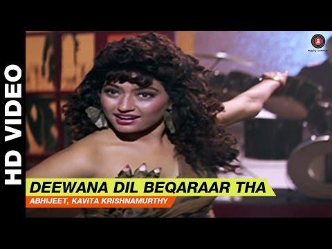 Deewana Dil Beqarar Tha - Bol Radha Bol  | Abhijeet, Alka Yagnik  Juhi Chawla & Rishi Kapoor