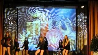 танец девушек современная хореография