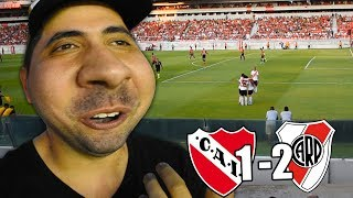 INDEPENDIENTE Vs RIVER | Reacción en Estadio