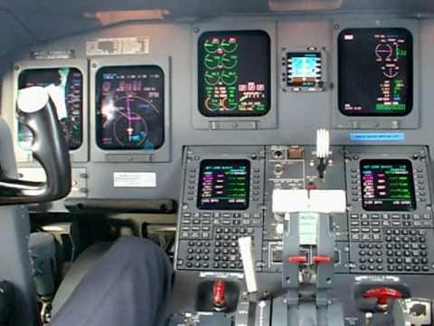 Lufthansa Cityline Crj700 Cockpit Video Dus Mxp Dus Part 2