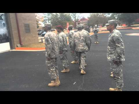 Me Performing My Drill And Ceremony Evaluation ALC Class 001-15