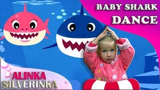 Baby Shark Sing and Dance! | Animal Songs | Songs for Children with Kid Shark and Sharks Family!