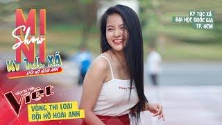 Gambar cover Hà Thu - Xin Lỗi Anh Quá Phiền   Vòng loại số 1 - Team Hồ Hoài Anh   Giọng Hát Việt 2019