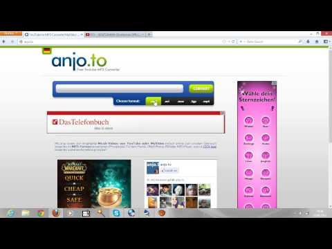 KOstenlos OHNE PROGRAMM Legal Mp3 .aVI von Youtube und Myviedeo Downloaden