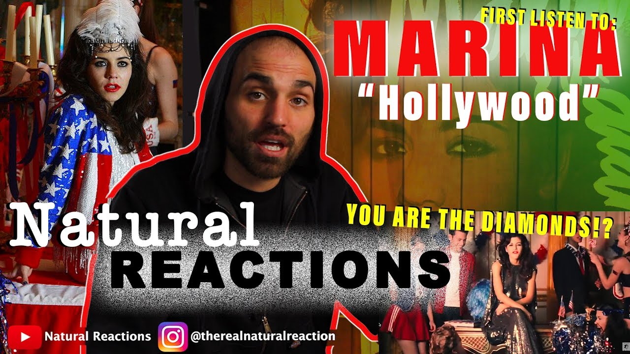Download MARINA AND THE DIAMONDS - Hollywood [Official Music Video] REACTION
