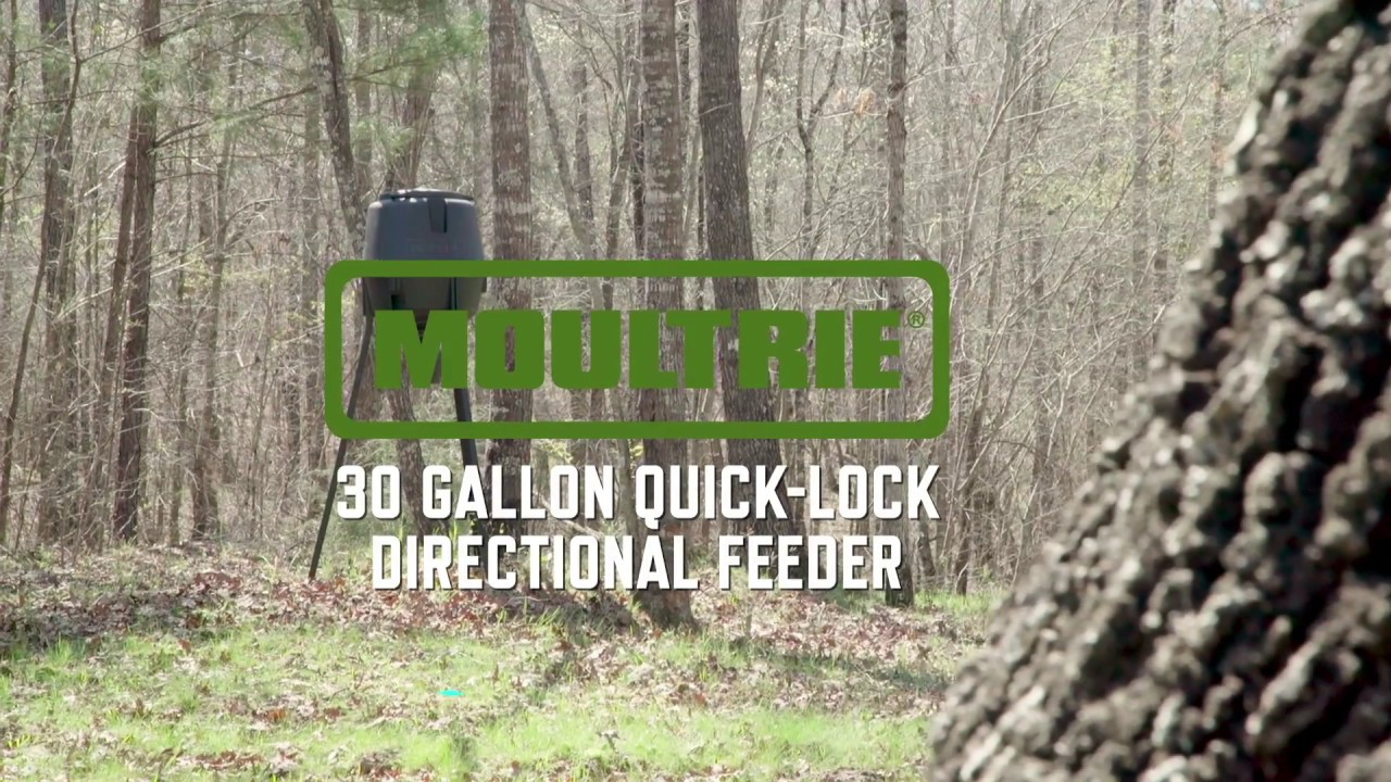 Moultrie 30-Gallon Quick-Lock Directional Feeder | Product Video